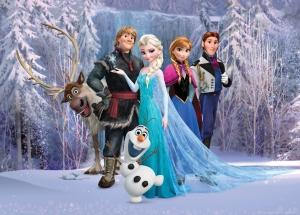 Fototapet Disney - Frozen0