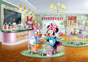 Fototapet Minnie si Daisy la Restaurant