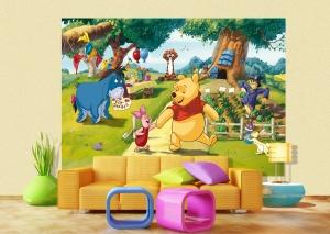 Fototapet Winnie the Pooh si Prietenii1