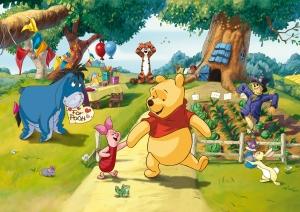 Fototapet Winnie the Pooh si Prietenii0