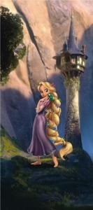 Fototapet Rapunzel0