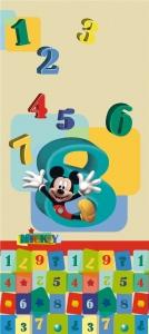 Fototapet Mickey si Numerele