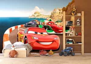Fototapet Cars - Fulger la Cursa