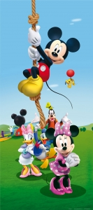 Fototapet Disney - Mickey Mouse Face Sport