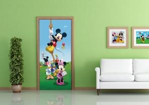 Fototapet Disney - Mickey Mouse Face Sport1