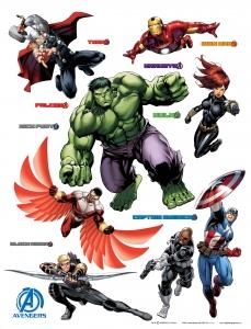 Sticker Razbunatorii - Avengers - 65x85cm - DK1719