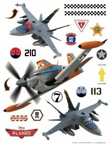 Sticker Avioane - Planes - 65x85cm - DK1772