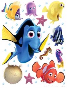 Sticker Nemo si Dory -  65X85cm - DK17050