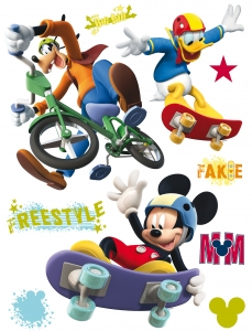 Sticker Mickey Freestyle - 65x85cm - DK8550