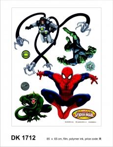 Sticker Spiderman si Monstrii - 65x85cm - DK1712