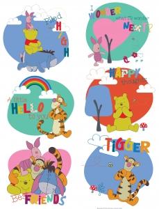 Sticker Winnie Pooh - 65x85cm - DK1770