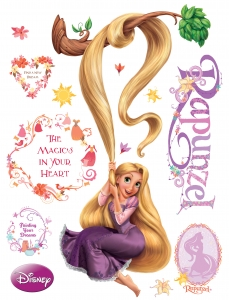 Sticker Rapunzel - 65x85cm - DK853