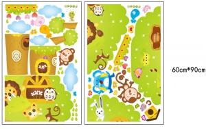 Sticker camere copii - Copacul Urias5