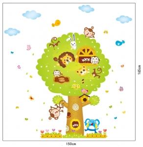 Sticker camere copii - Copacul Urias4