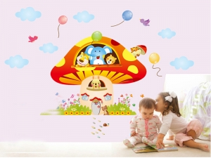 Sticker camere copii - Ciuperca uriasa