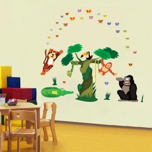 Sticker decorare camere copii - In jungla3