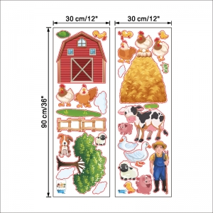 Sticker pentru copii - Animale la ferma7