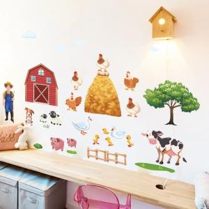 Sticker pentru copii - Animale la ferma4