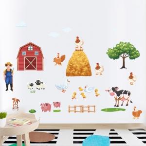 Sticker pentru copii - Animale la ferma