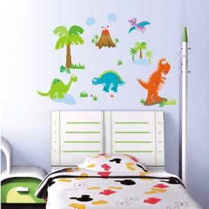 Sticker decorativ copii - Lumea dinozaurilor4