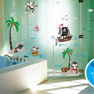 Sticker decorativ pentru baieti - Piratii naufragiati5