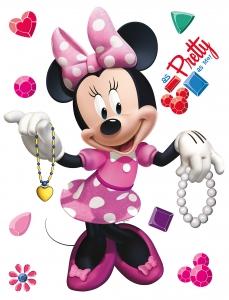Sticker Minnie Mouse Frumusica - 65x85cm - DK857