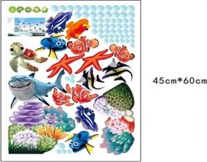 Sticker pentru camere bebelusi - Pestisori colorati