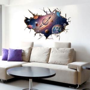 Sticker pentru copii 3D - Planete