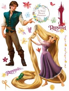 Sticker Rapunzel si Printul Eugene - 65x85cm - DK852