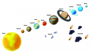 Stickere pentru copii - Sistemul solar - Planete4
