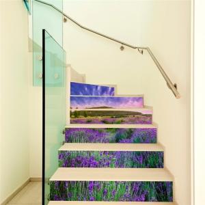 Stickere pentru trepte - Lan de lavanda - 6 folii de 18x100 cm1
