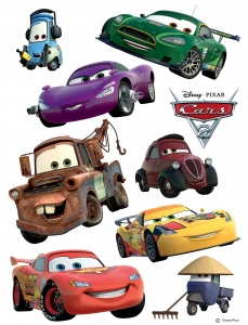 Stickere perete Disney - Cars