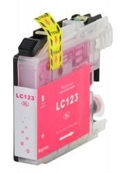 Cartus cerneala compatibil Brother LC123 XL - Magenta