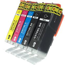 Set Cartuse Ink ERS Compatibile Canon PGI 570XL CLI 571XL - (2xBK + C+ M + Y)