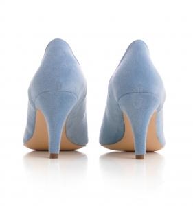 Pantofi stiletto din piele albastra intoarsa2