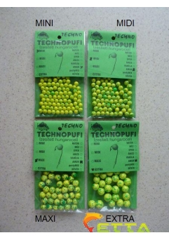 Technopufi Amur (verde+galben) extra