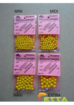 Technopufi Sweetcorn (galben) maxi