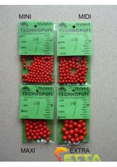 Technopufi Capsuni (rosu) extra