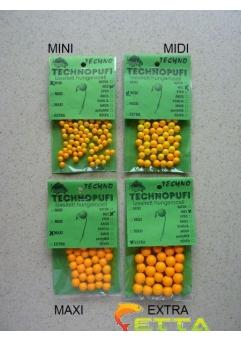 Technopufi Miere (portocaliu) midi