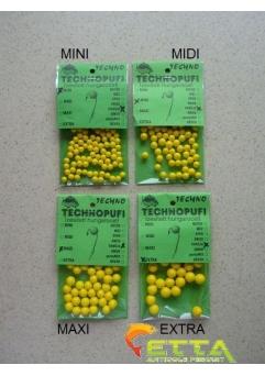 Technopufi Vanilie (galben) extra