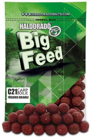 Big Feed - C21 Boilie - Carnat Condimentat 0.8kg, 21 mm