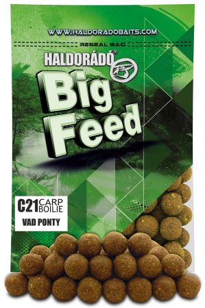 Big Feed - C21 Boilie - Crap Salbatic 0.8kg, 21 mm