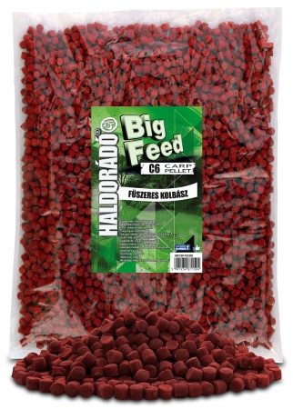 Big Feed - C6 Pellet - Carnat Condimentat 2.5kg, 6 mm