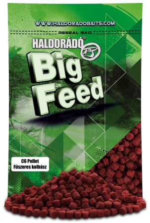 Big Feed - C6 Pellet - Carnat Condimentat 0.9kg, 6 mm