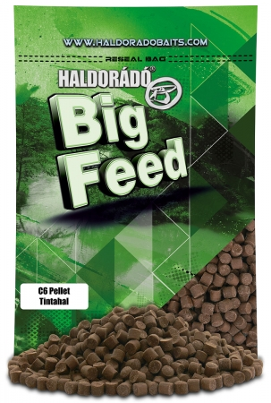 Big Feed - C6 Pellet - Squid 0.9kg, 6 mm
