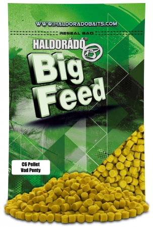 Big Feed - C6 Pellet - Crap Salbatic 0.9kg, 6 mm