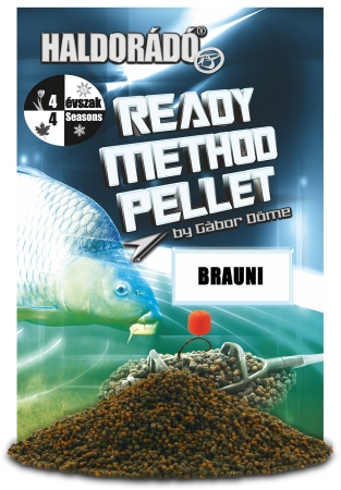 Ready Method Pellet - Brauni 0.4kg, 2-3 mm