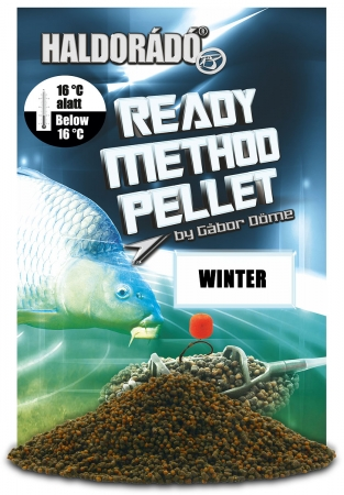 Ready Method Pellet - Winter 0.4kg, 2-3 mm