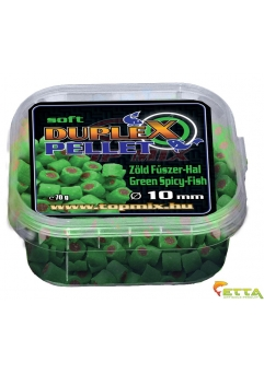 Pelete Duplex Condiment Verde Peste 70g 10mm
