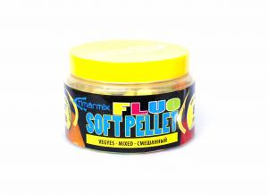 Fluo Soft Pellet Natur mix 8mm 50gr